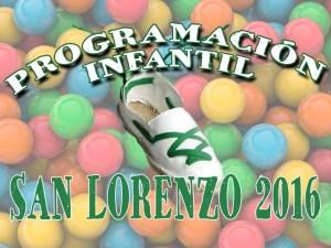PROGRAMACION INFANTIL SL 2016