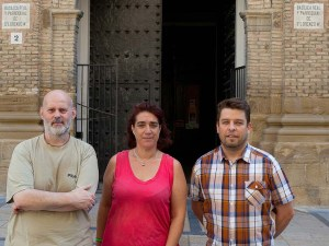 avier Monsón (presidente), Gemma Jiménez (tesorera), Roberto Cebollero (vicepresidente) / Foto: Laura Ayerbe