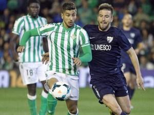 Alvaro vadillo en un partido frente al Málaga / Foto: es.besoccer.com