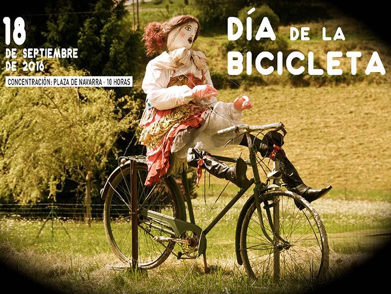 Cartel Día de la Bicicleta