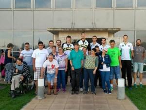 Foto de familia del acto / Foto: CB Peñas