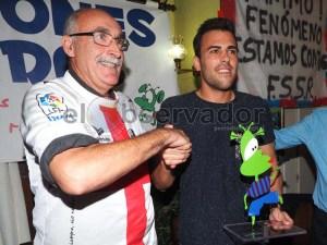 Carlos David recibió el premio al Mejor Fenómeno /Foto: Miguel Pinedo