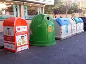 Nuevo contenedor instalado en Huesca / Foto: Ayto. de Huesca