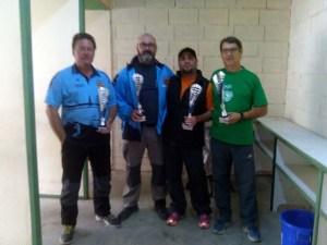 Ganadores del campeonato Provincial Arma Larga / Foto: CT Loreto