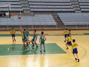Imagen de uno de los partidos disputados / Foto: CB Peñas