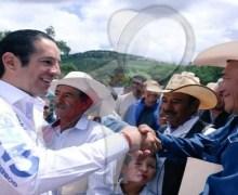 Entregan primera etapa de modernización del camino a La Laborcilla, en El Marqués