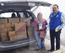 Iniciará diputado entrega de leche a familias de SJR y Escobedo