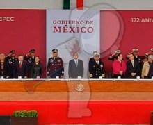 Encabeza AMLO ceremonia de Gesta Heroica de los Niños Héroes