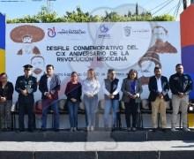 Conmemoran CIX Aniversario de la Revolución Mexicana en Pedro Escobedo