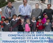 Entrega Memo Vega mejoramiento de calles en Nuevo San Juan