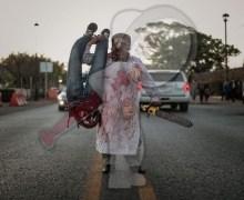 Más de 7 mil personas participaron en la marcha de los muertos en SJR