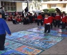 Capacita SINAPROC a niños de preescolar en Escobedo