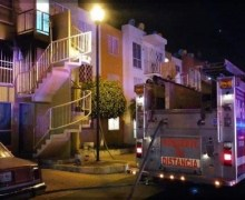 Se incendia casa-habitación en Loma Alta