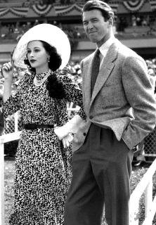 Hedy Lamarr y Jimmy Stewart