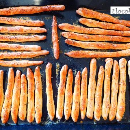 gressins au carvi et parmesan