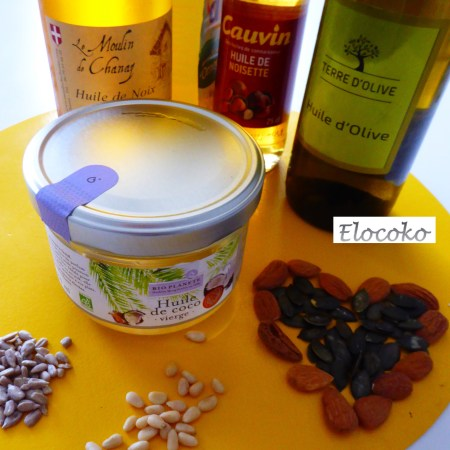 les matières grasses-huiles végétales