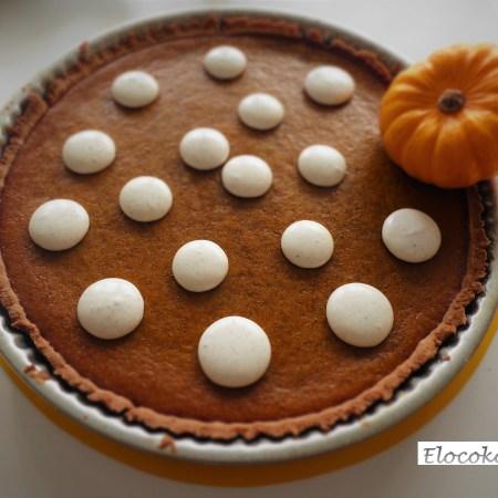 pumpkin pie : tarte à la courge et à la cannelle