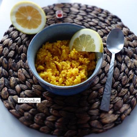 risotto safran citron