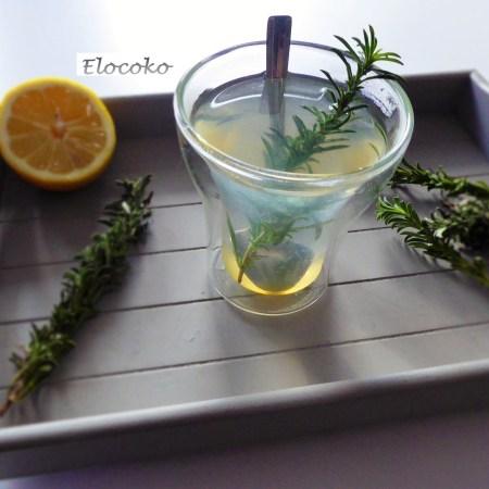 Mon grog thym, citron miel et rhum, et autres infusions d'hiver