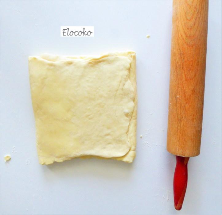pâte feuilletée 11-après tour simple
