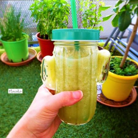 smoothie pomme menthe concombre
