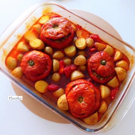 tomates farcies au chorizo