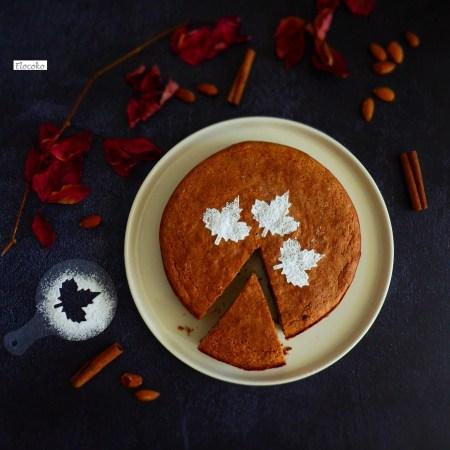 tarte de santiago -gateau amande sans gluten