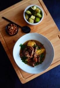 curry de boeuf façon massaman