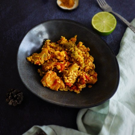 one pot curry de cabillaud et riz
