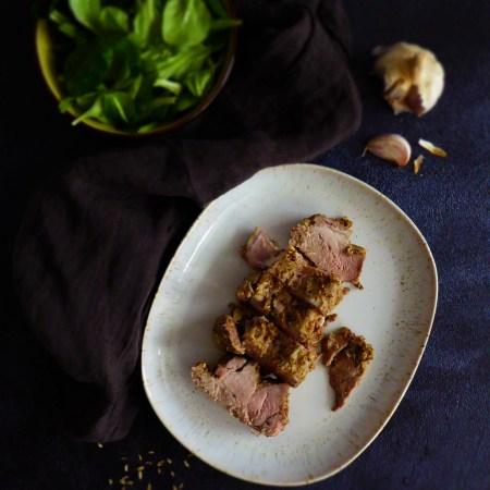 porc aux épices douces