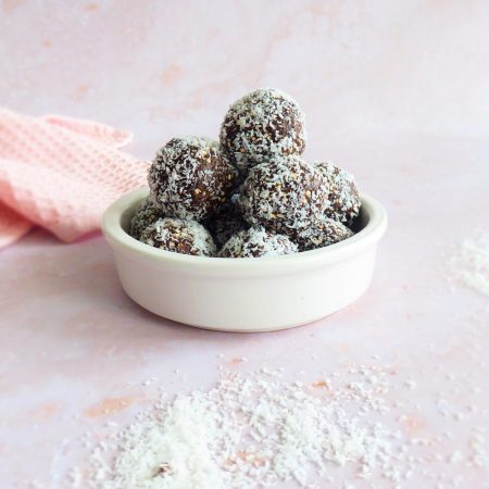 truffes vegan choco coco cajou