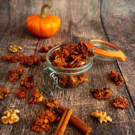 pumpkin granola aux épices
