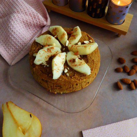 456-gâteau moelleux façon frangipane