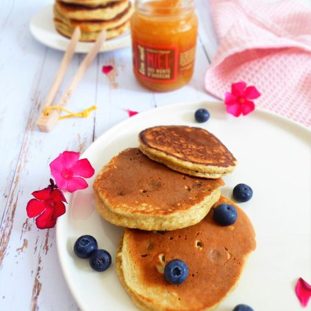 Pancakes coco myrtille b