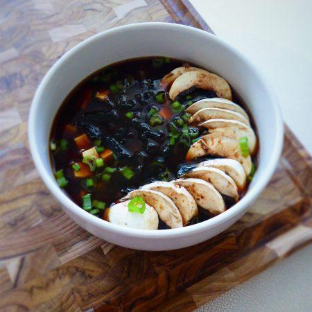 soupe miso à ma façon