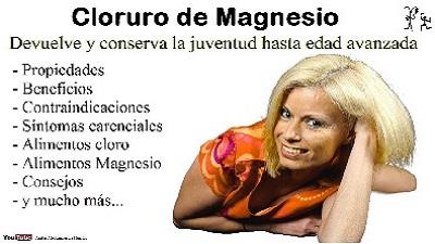 el cloruro de magnesio para que sirve beneficios