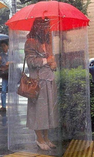 invento paraguas japones