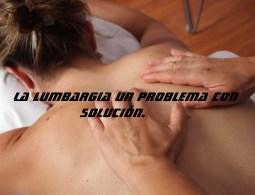 lumbargia un problema con solución