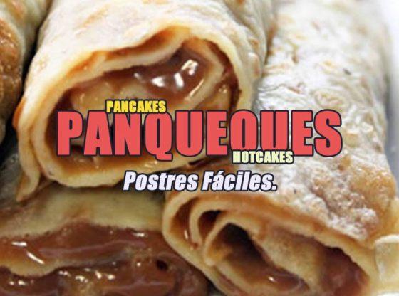 PANQUEQUES CASEROS RECETA