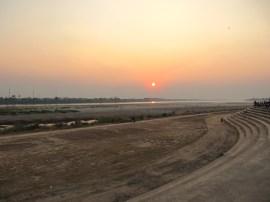Et encore un coucher de soleil sur le Mékong