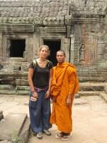 """moines qui veulent prendre des photos avec les """"touristes"""""""