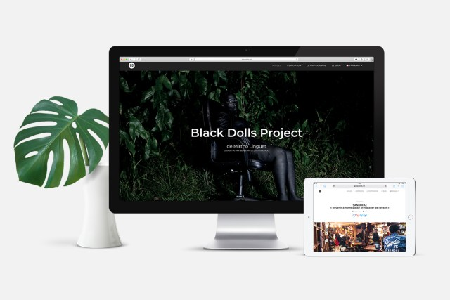 Site internet Black Dolls Project