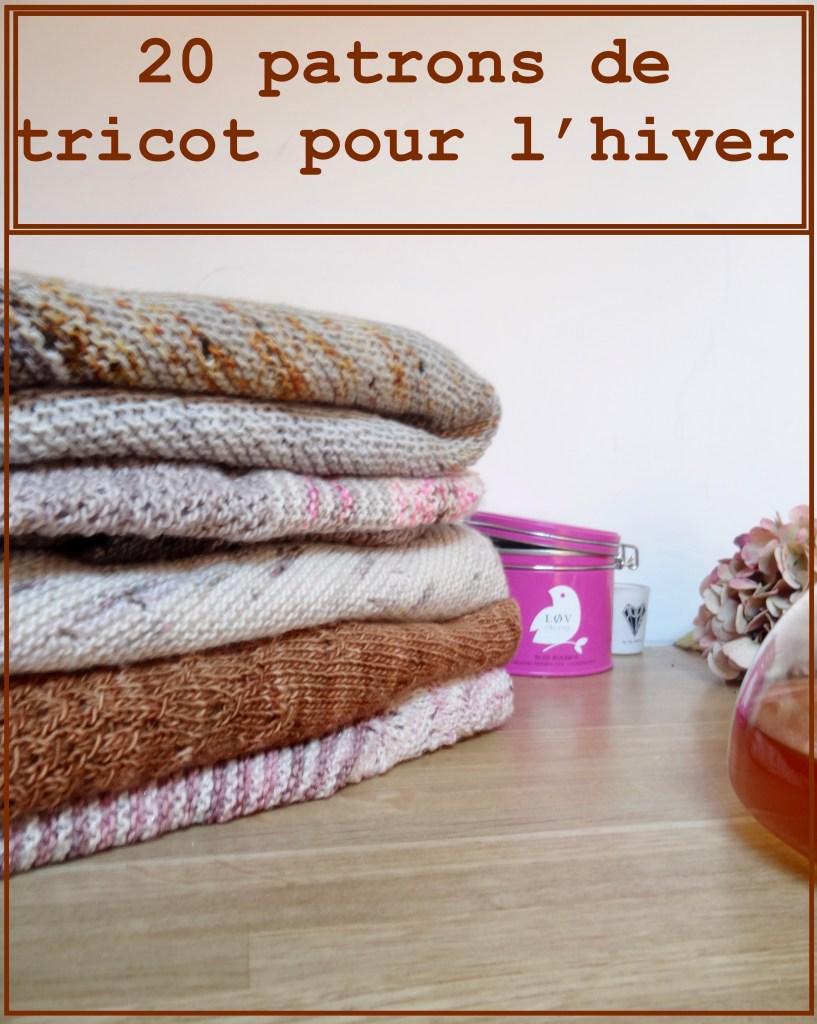 Sélection de patrons tricot