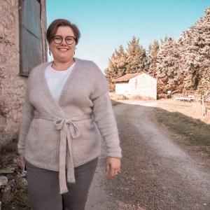 Patron Gilet Rêverie Atelier Emilie