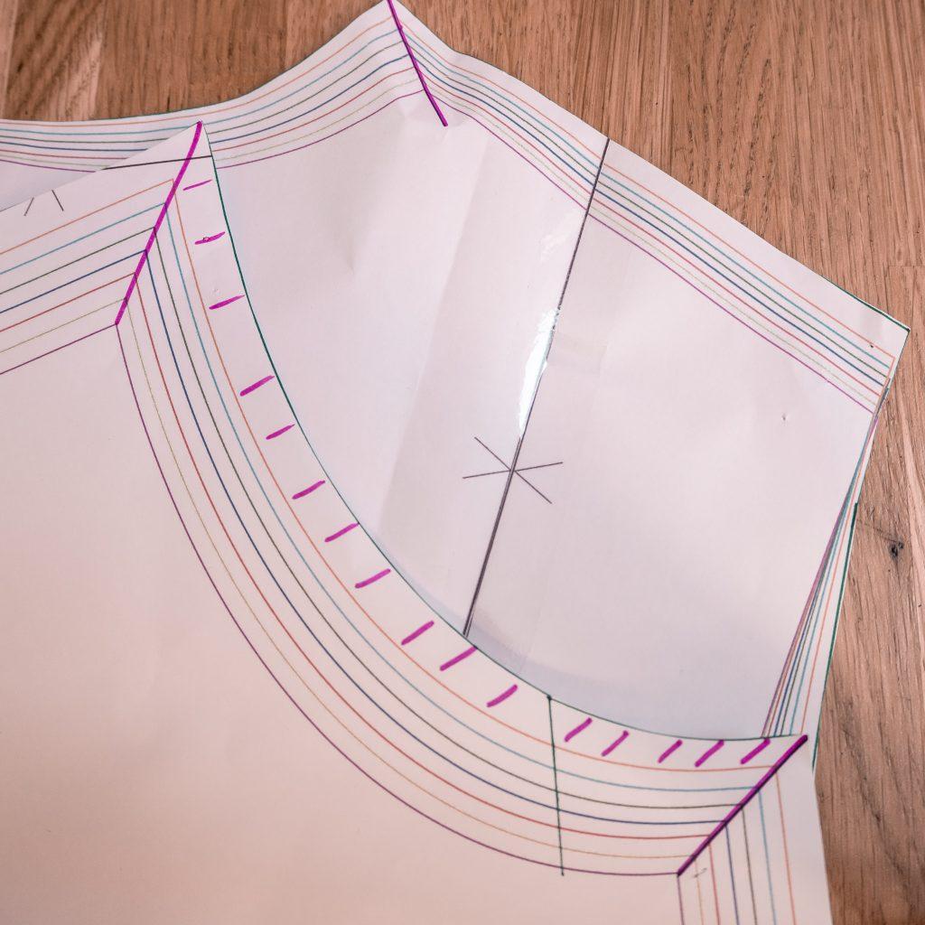 Robe Violette République du Chiffon