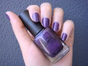 purple nail polish elodiebubble