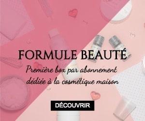 box cosmétique maison formule beauté