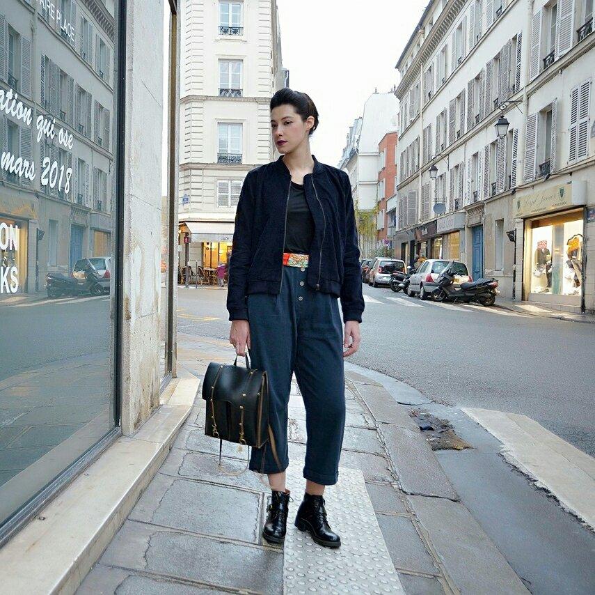 Le Look éthique style français parisien !