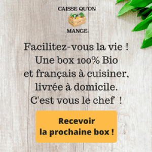 Caisse qu'on mange box bio