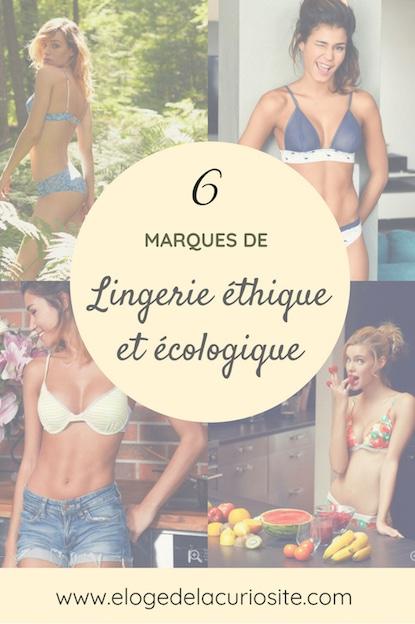 6 marques de lingerie éthique et écologique - culottes, soutien gorges et body bio, made in france, non toxiques...